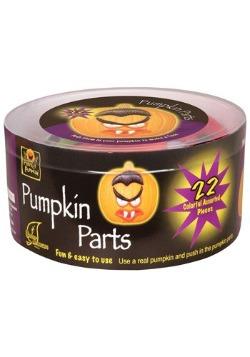 22 Piece Pumpkin Push-in Kit