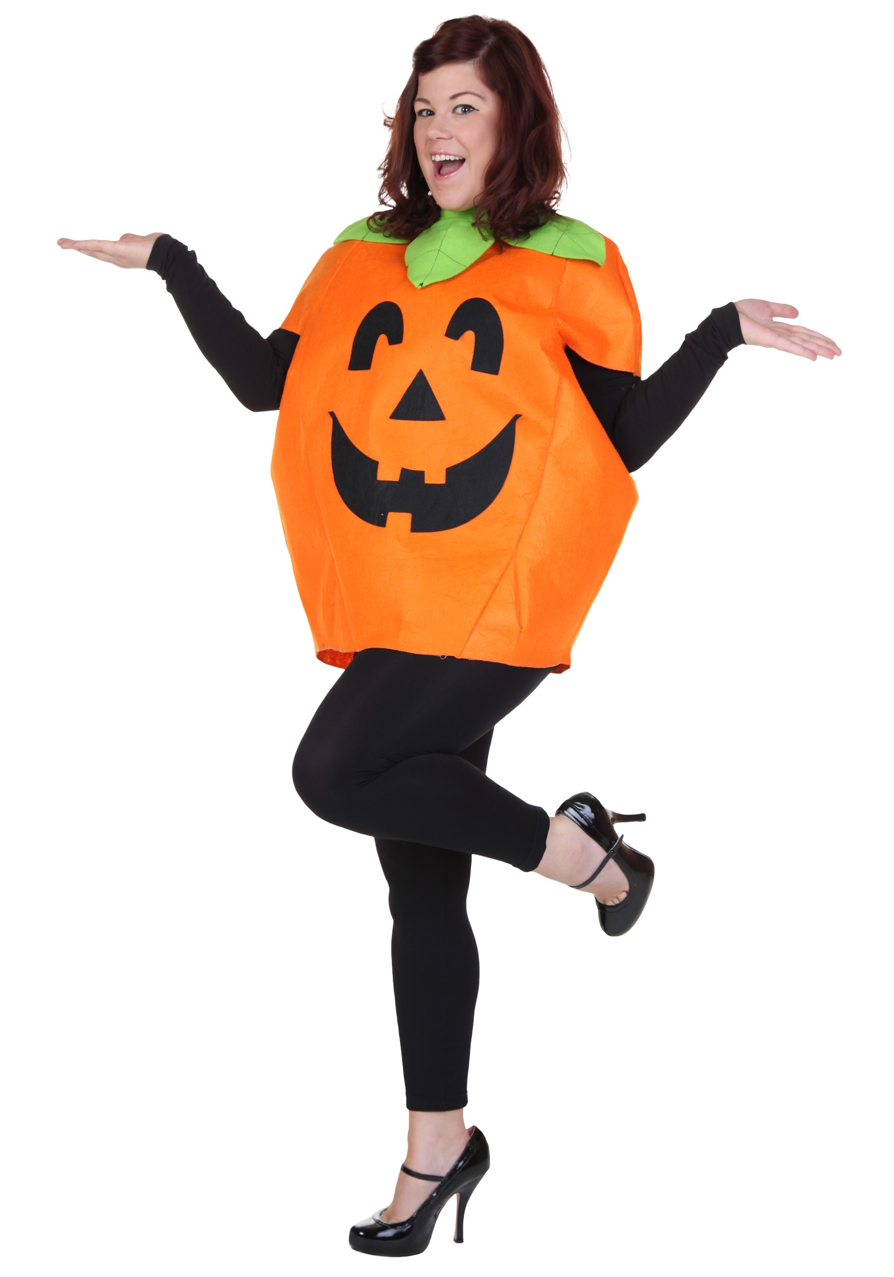 plus pumpkin costume - Halloween Food Costume