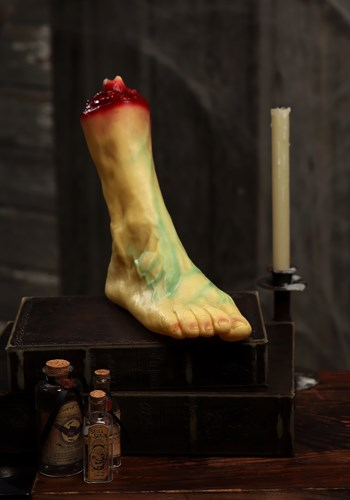 Life Size Severed Foot Decoration By: Seasons (HK) Ltd. for the 2015 Costume season.