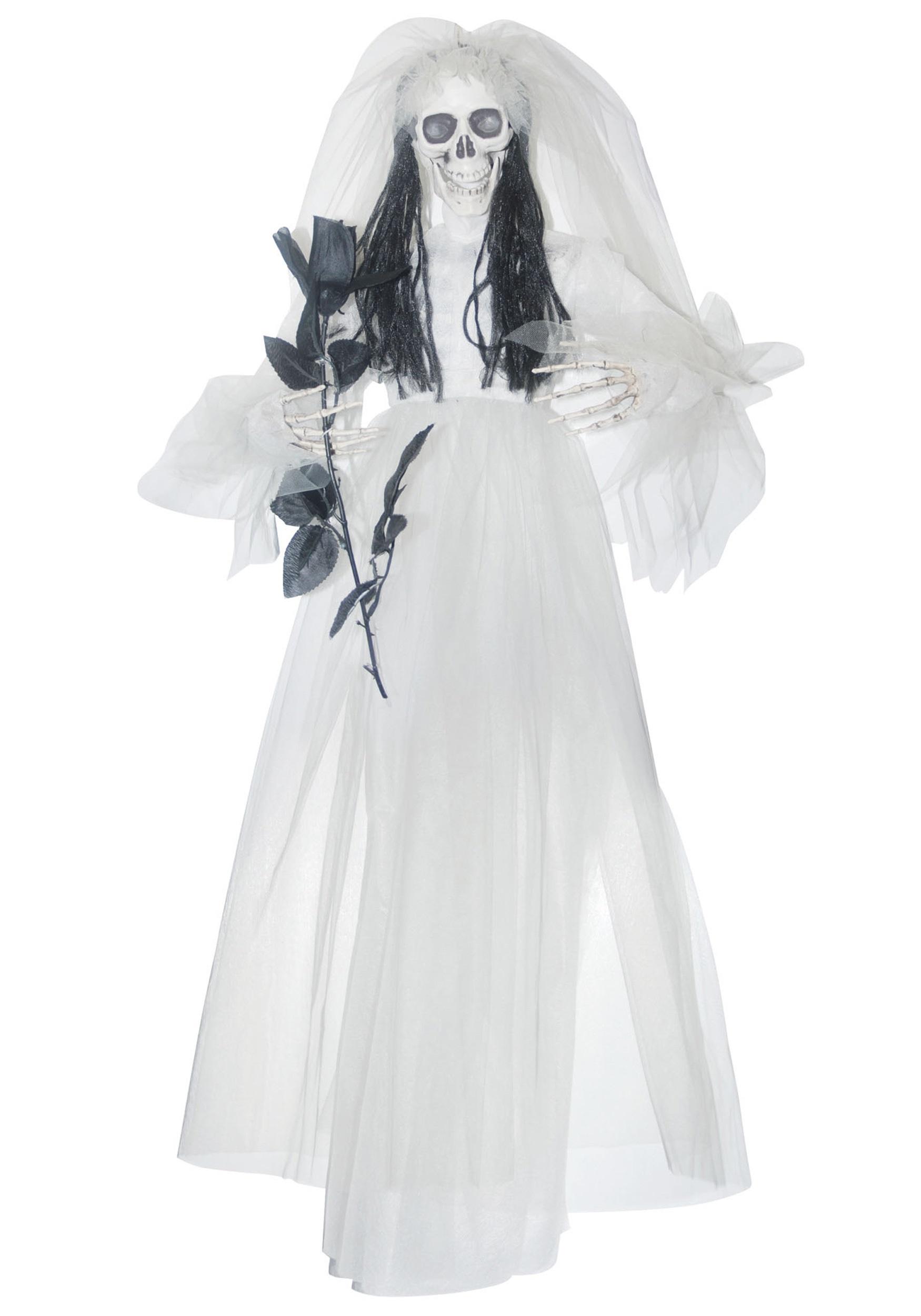 sc 1 st  Halloween Costumes & Hanging Bride w/ Black Rose