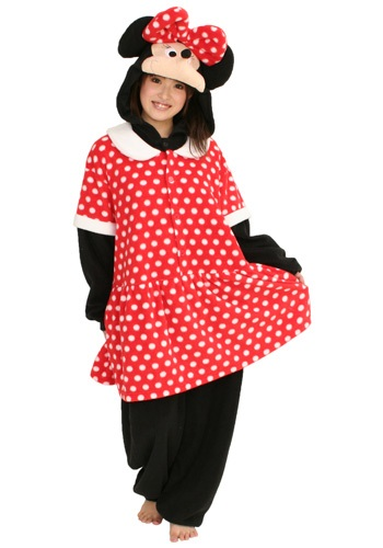 Click Here to buy Minnie Mouse Pajama Costume from HalloweenCostumes, USA Funds & Shipping