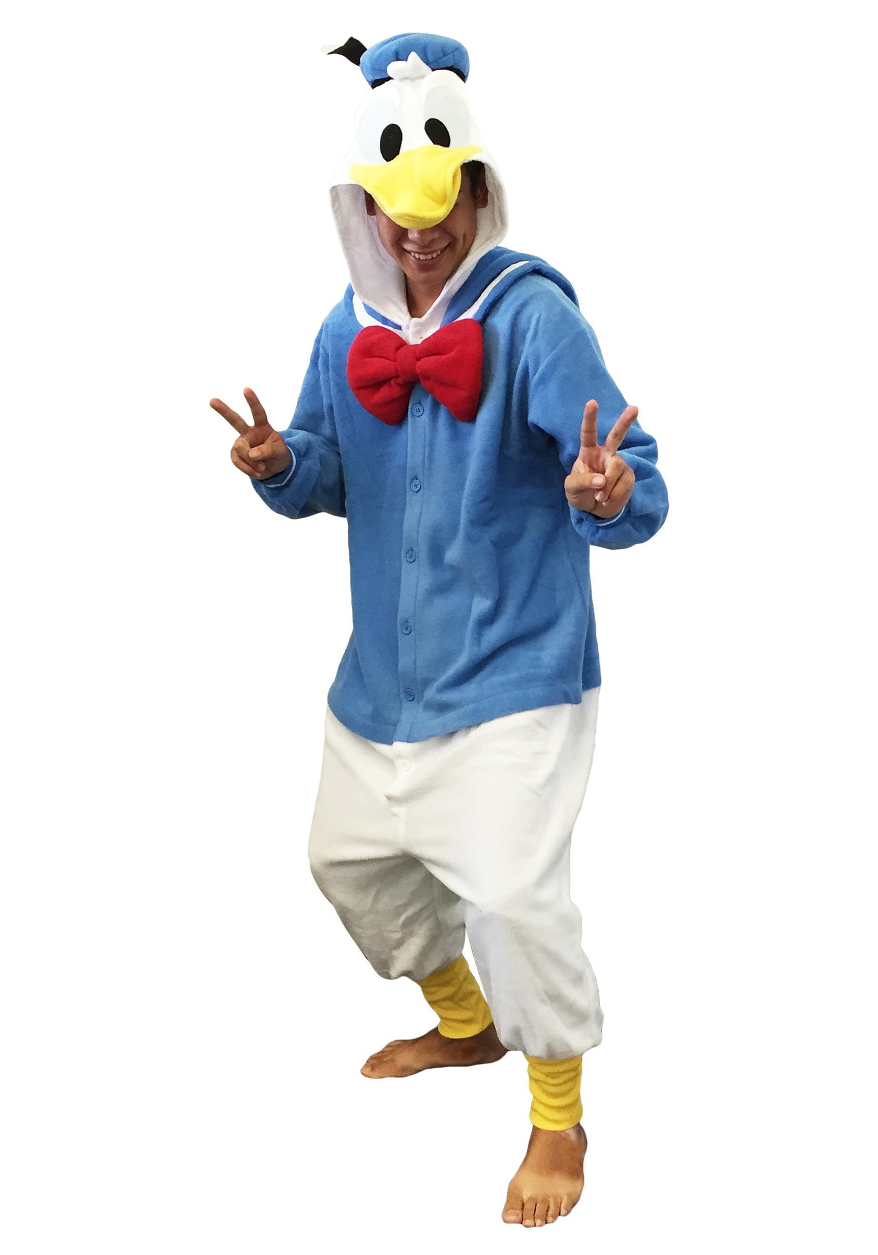Donald Duck Pajama Costume  Donald Duck Paj...