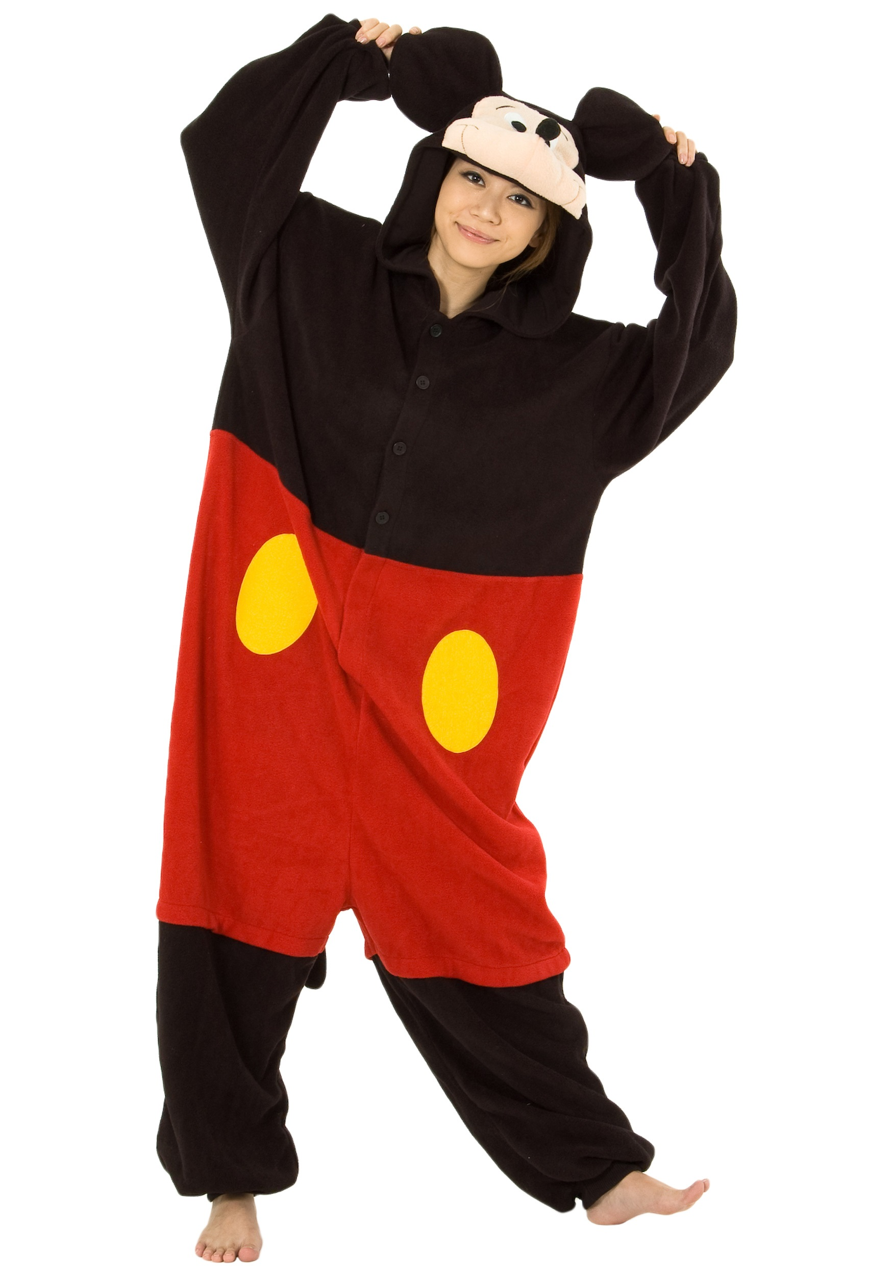 Mickey Mouse Pajama Costume  sc 1 st  Halloween Costumes & Mickey Mouse Costumes - HalloweenCostumes.com