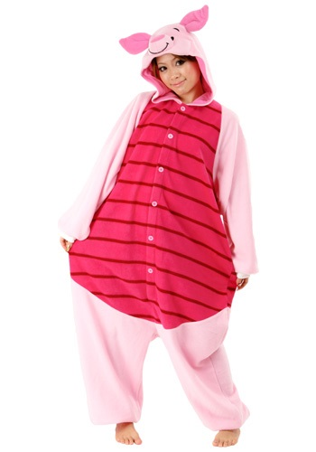 Click Here to buy Piglet Pajama Costume from HalloweenCostumes, USA Funds & Shipping