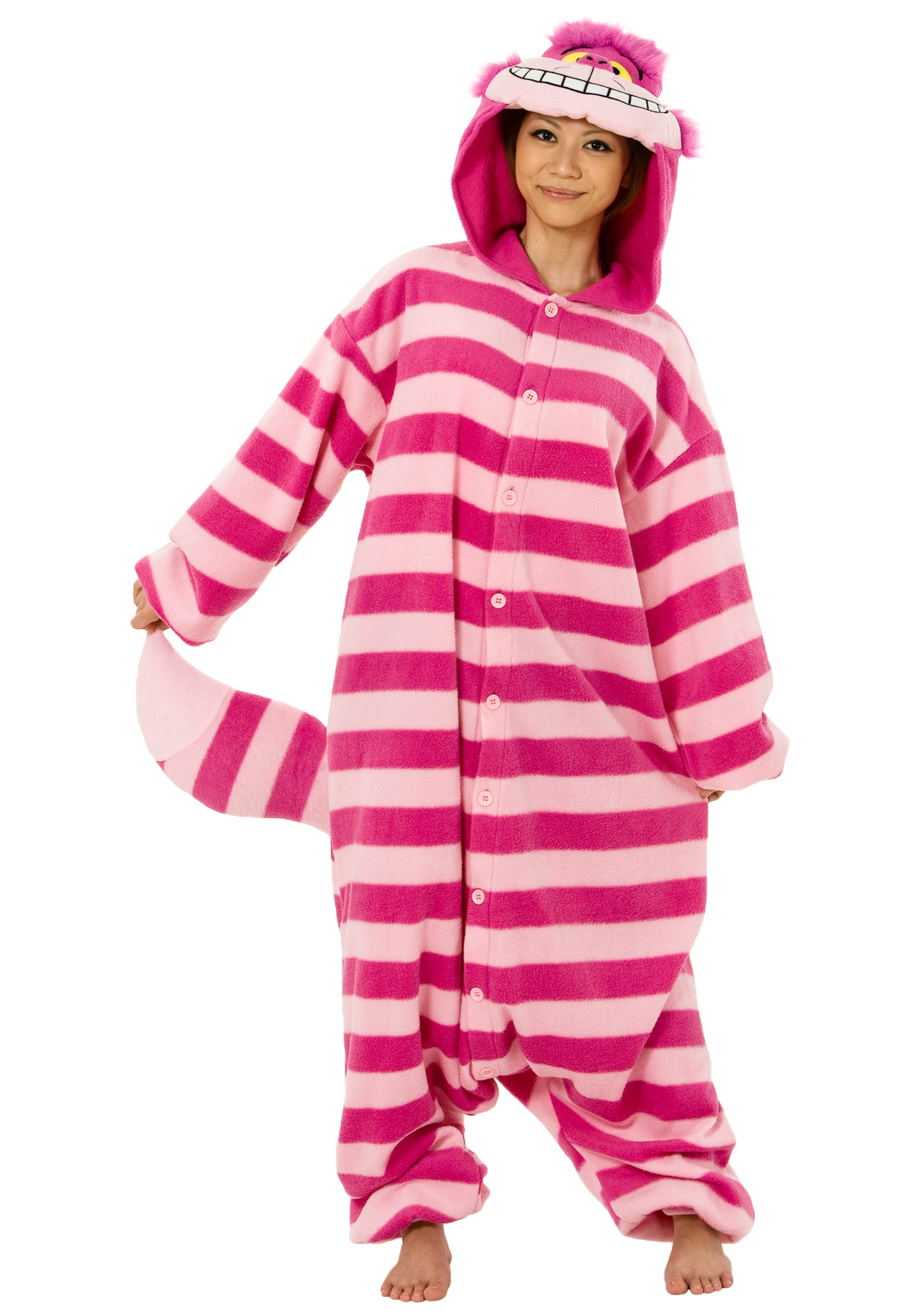 Child Deluxe Cheshire Cat Costume Cheshire Cat Pajama Costume