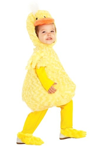 Toddler Yellow Duck Costume