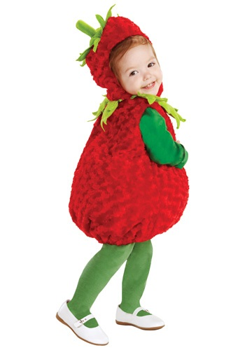Toddler Red Strawberry Costume ()