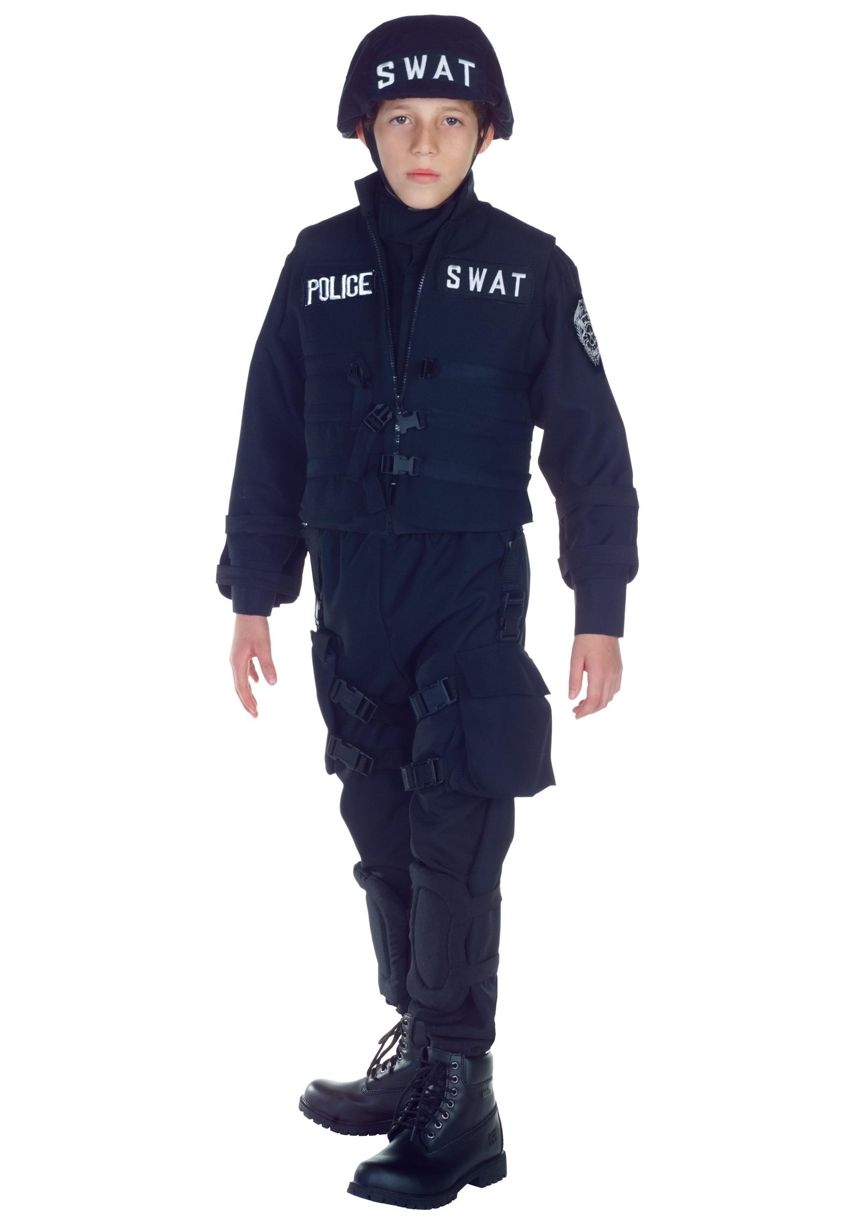 Swat Team Shields Kids Swat Team Costume