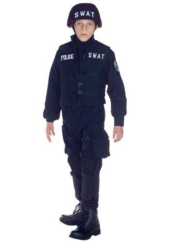 [Kids SWAT Team Costume] (Swat Costumes Kid)