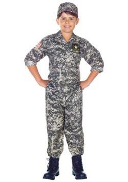 Kids Army Camo Costume