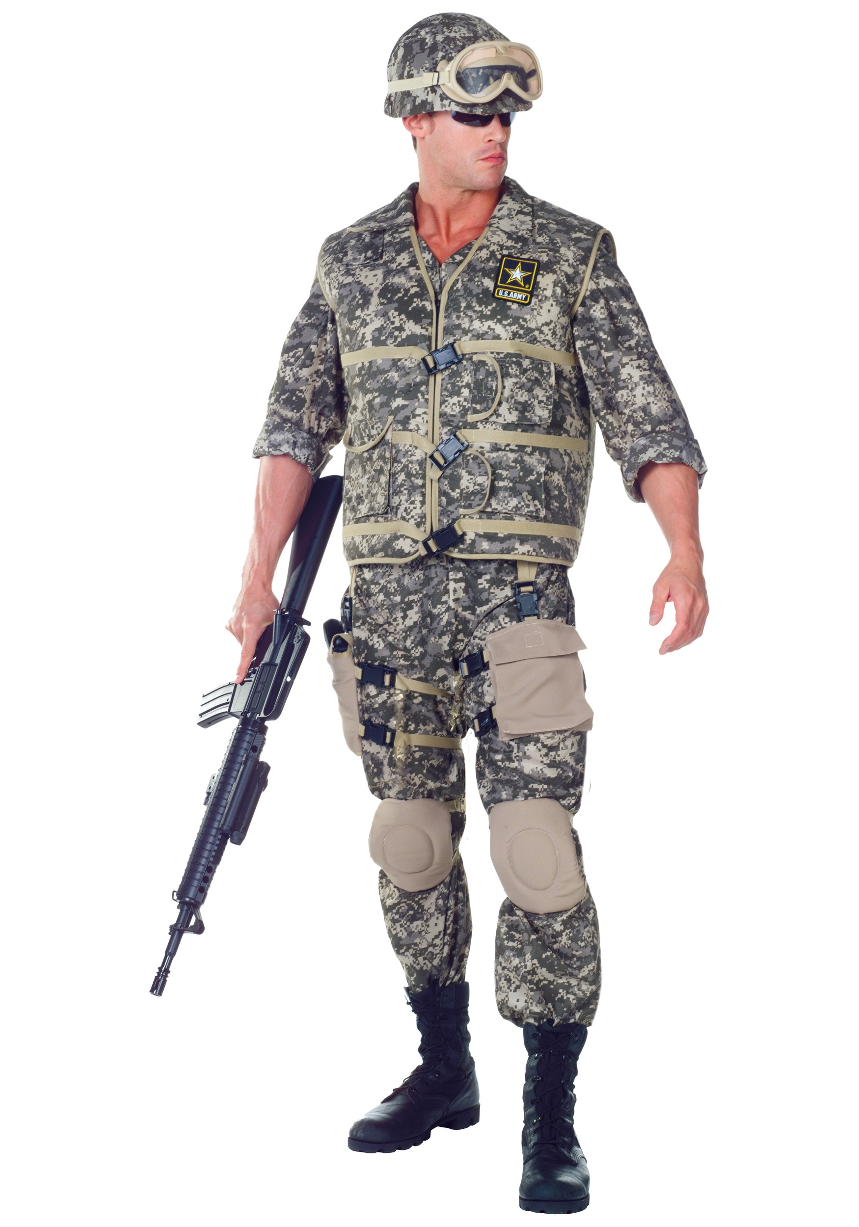 deluxe us army ranger costume - Halloween Army Costume