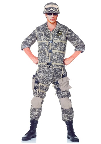Click Here to buy Teen Deluxe U.S. Army Ranger Costume from HalloweenCostumes, CDN Funds