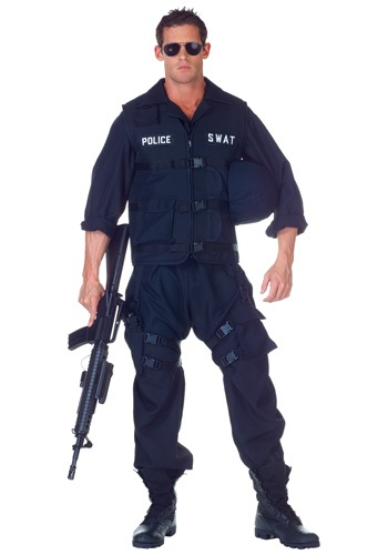 SWAT Jumpsuit Costume image