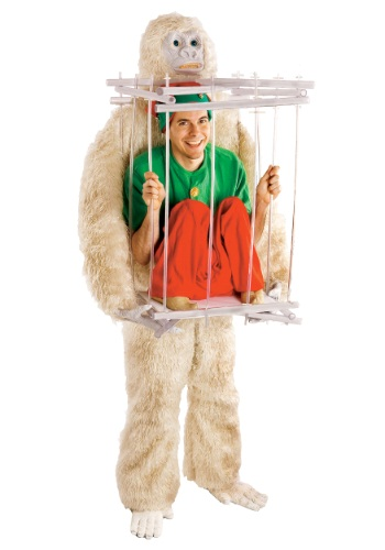 Click Here to buy Abominable Snowman & Cage Costume Kit from HalloweenCostumes, USA Funds & Shipping