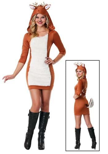 Click Here to buy Sexy Deer Costume from HalloweenCostumes, USA Funds & Shipping