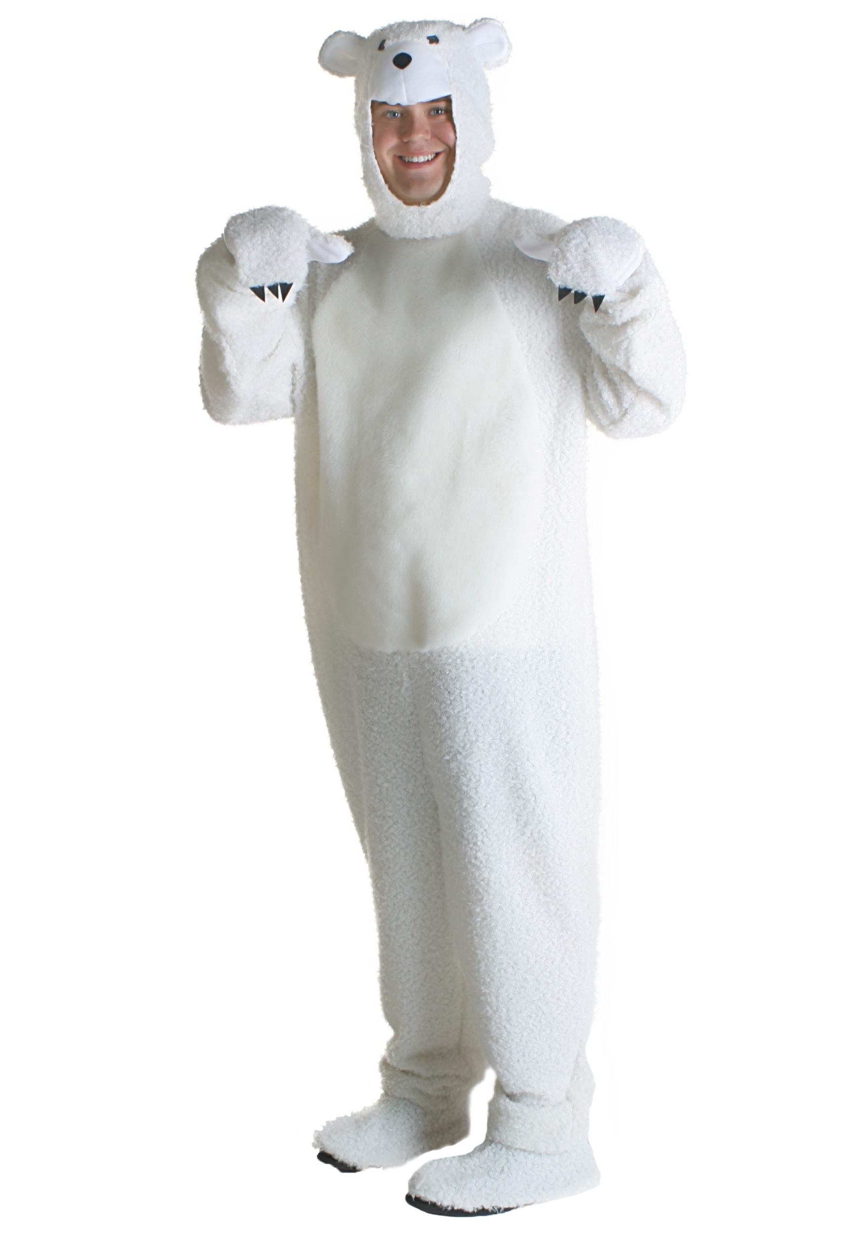 Adult Polar Bear Costume-8088