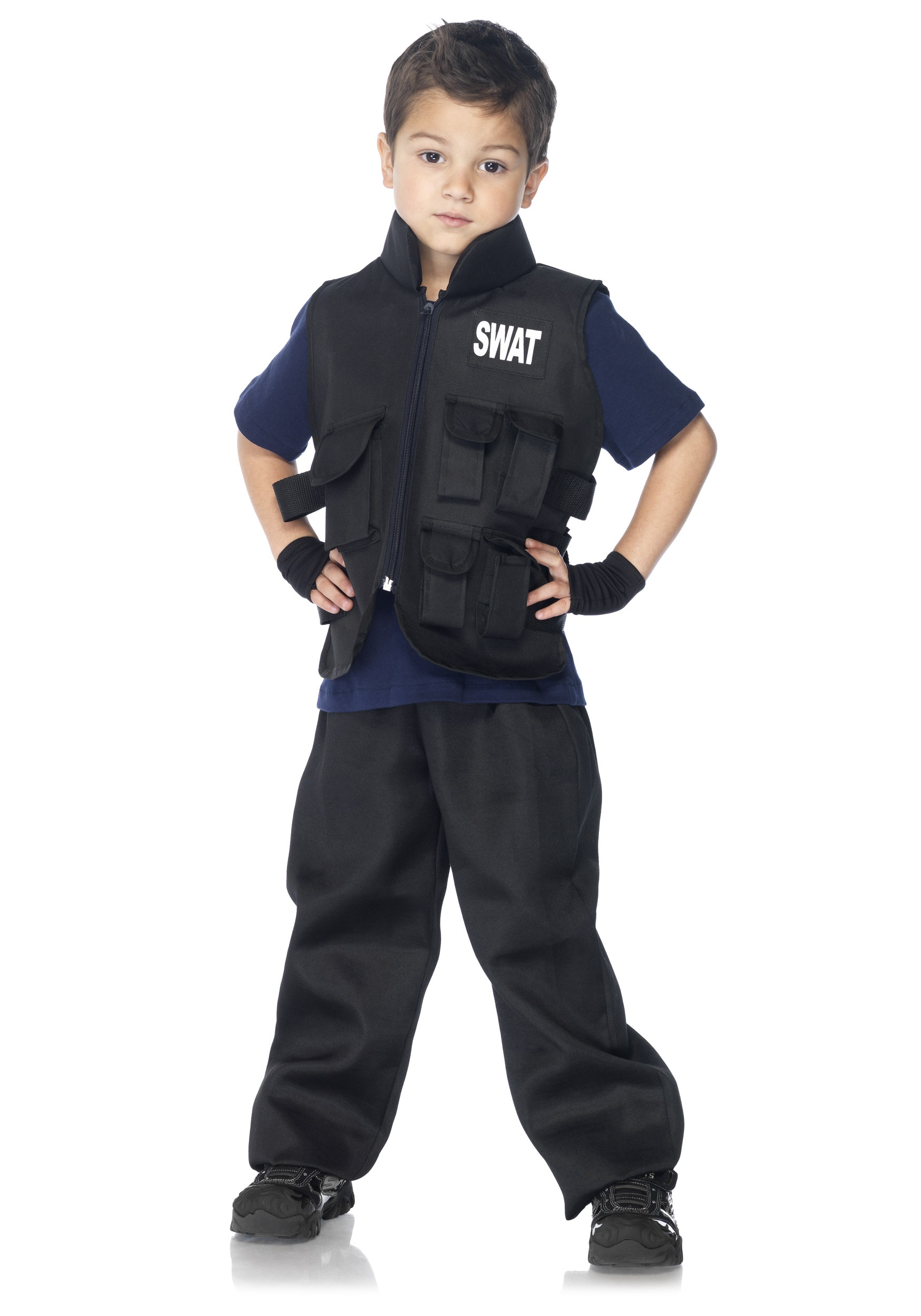 Halloween Costumes For Kids Boys 10 And Up.Boys Swat Commander Costume