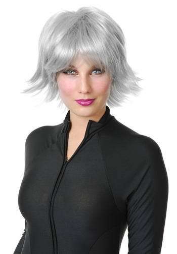 Silver Superhero Wig By: Charades for the 2015 Costume season.