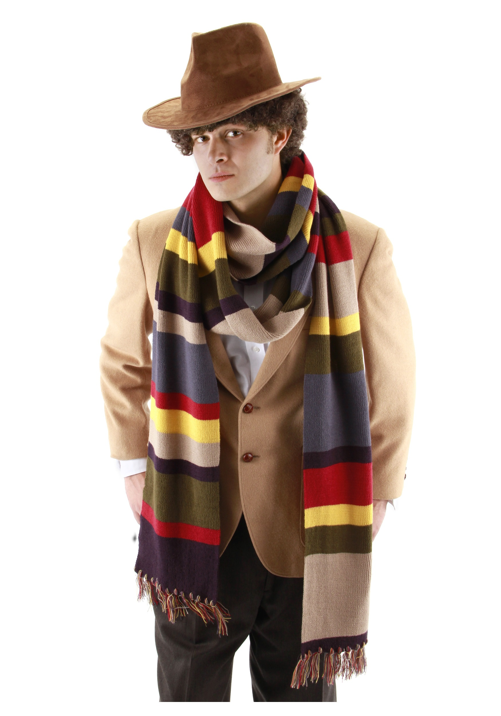 fourth doctor who scarf