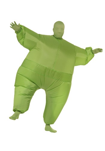 Green Man Inflatable Costume By: Rubies Costume Co. Inc for the 2015 Costume season.