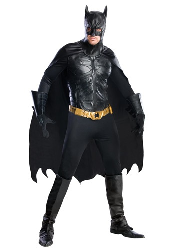 Grand Heritage Dark Knight Batman Costume - Dark Knight Rises Costumes RU56309-L
