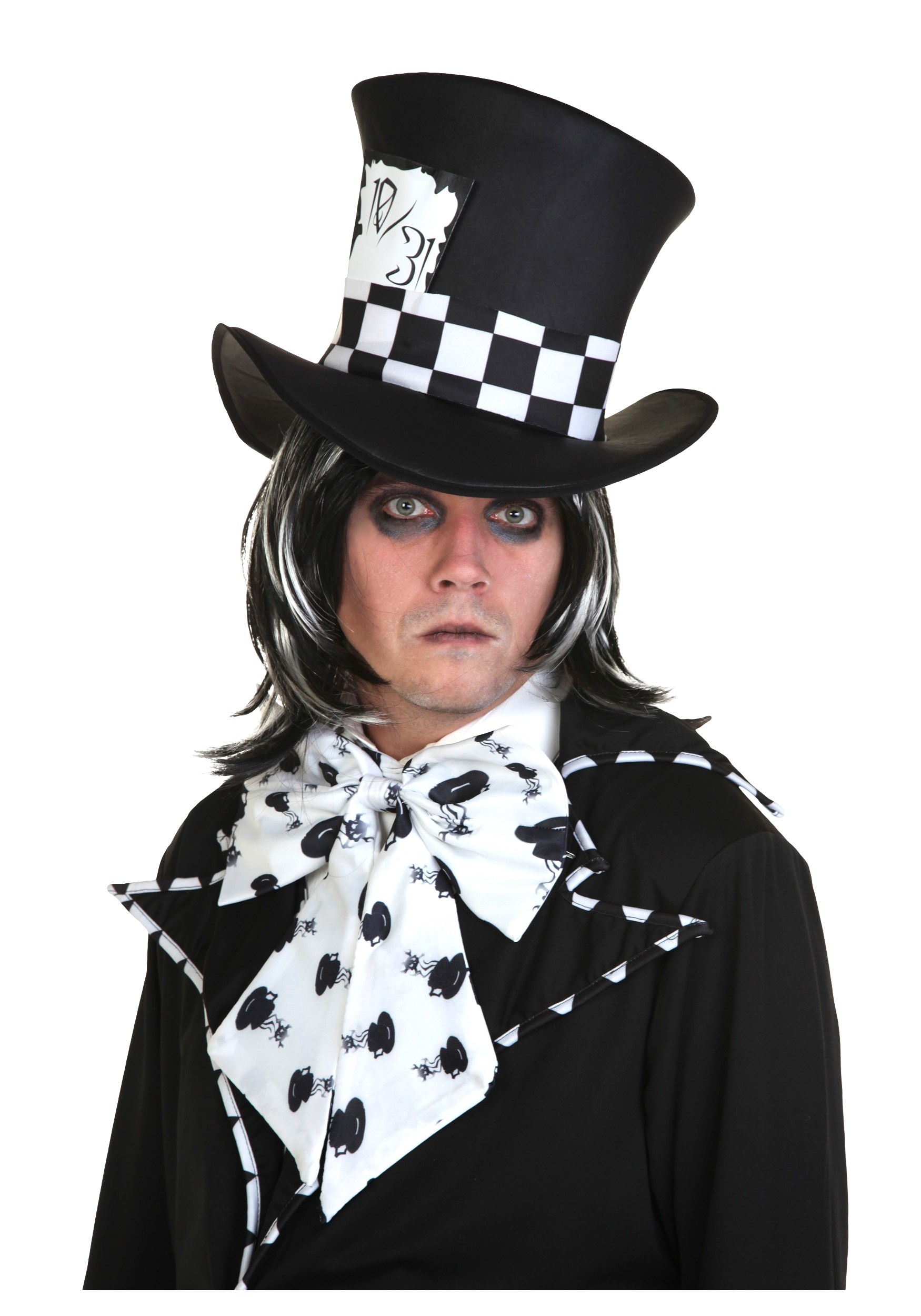 Dark Mad Hatter Wig