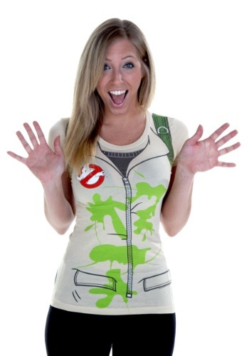 Image of Womens Costume Ghostbusters T-Shirt