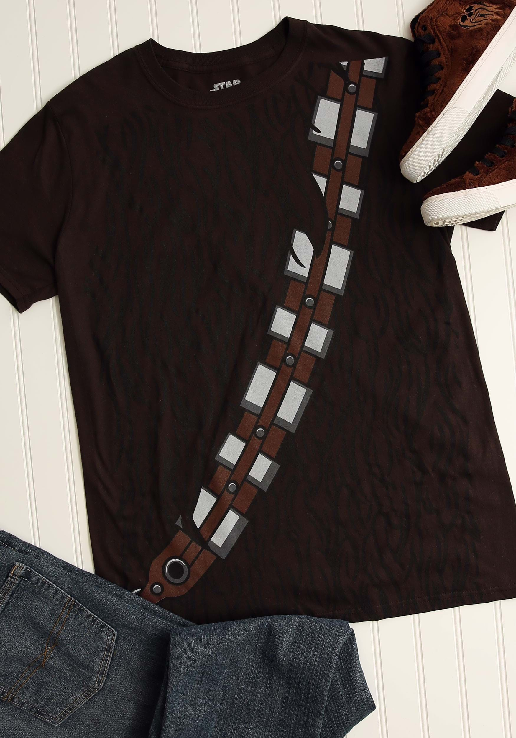 Mens i am chewbacca costume t shirt for Costume t shirts online