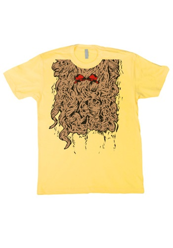 Curly Lion Costume T Shirt By: Fun T Shirts for the 2015 Costume season.