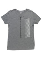 Womens Costume Tinman T-Shirt
