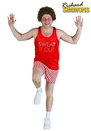 Plus Size Workout Video Star Costume
