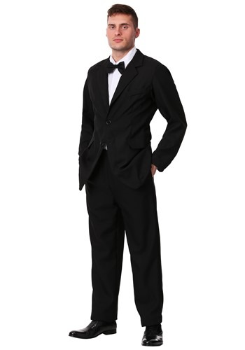 Plus Size Black Suit Costume