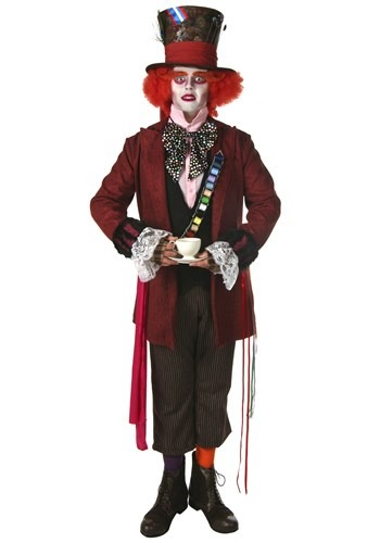 Plus Size Authentic Mad Hatter Costume By: Fun Costumes for the 2015 Costume season.