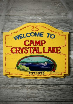 Camp Crystal Lake Sign update