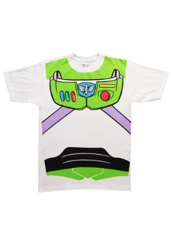 Men's Toy Story Buzz Lightyear Costume T-Shirt