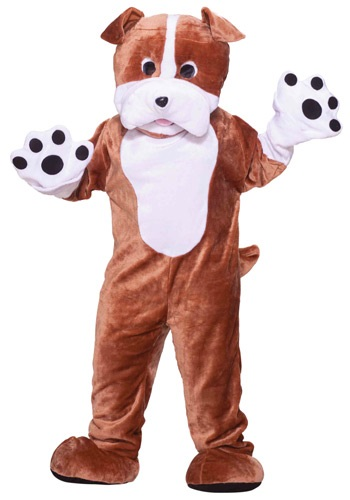 Plush Bulldog Mascot Costume By: Forum Novelties, Inc for the 2015 Costume season.