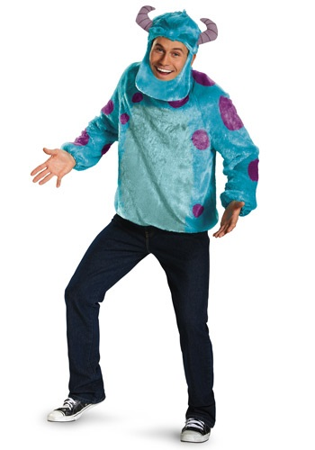 Monsters Inc Plus Size Deluxe Sulley Costume