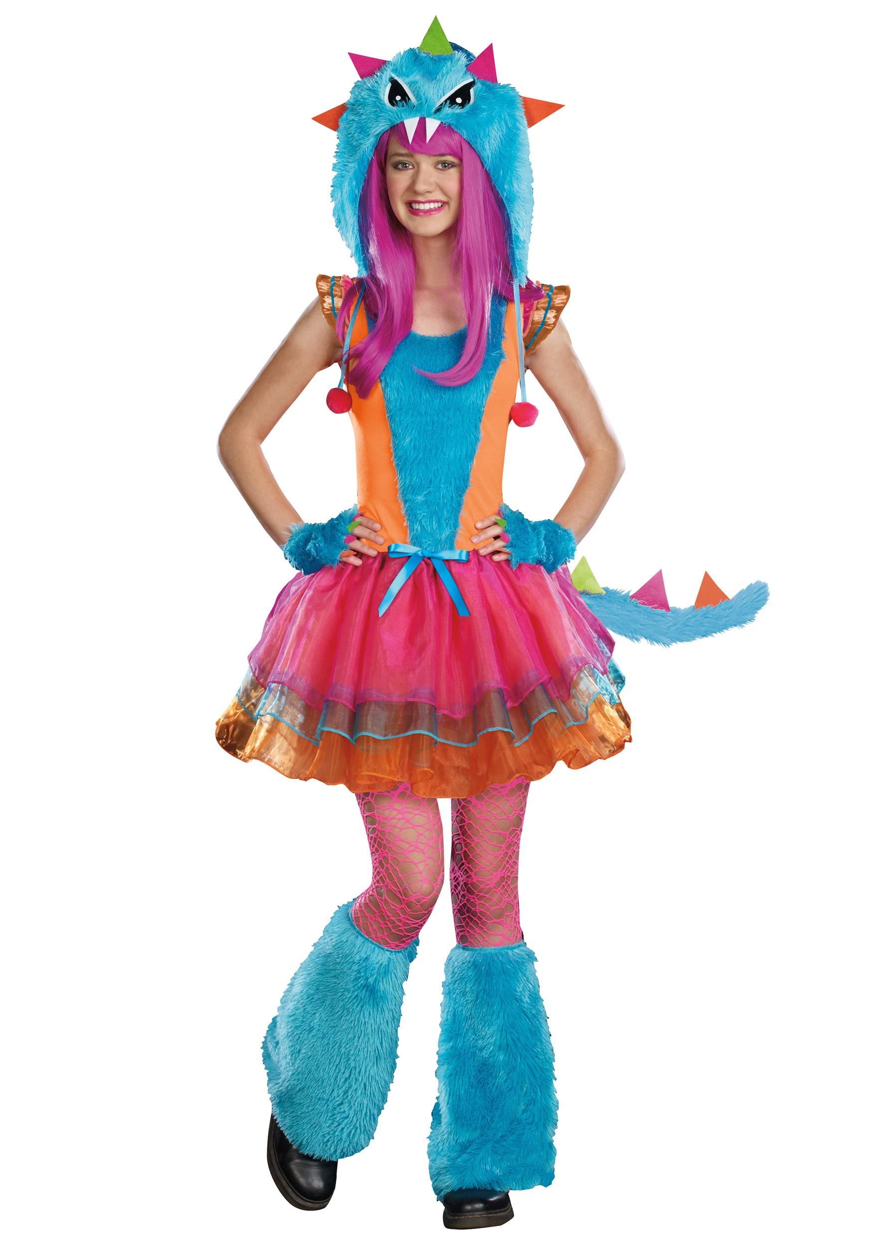 teen ferocious monster costume