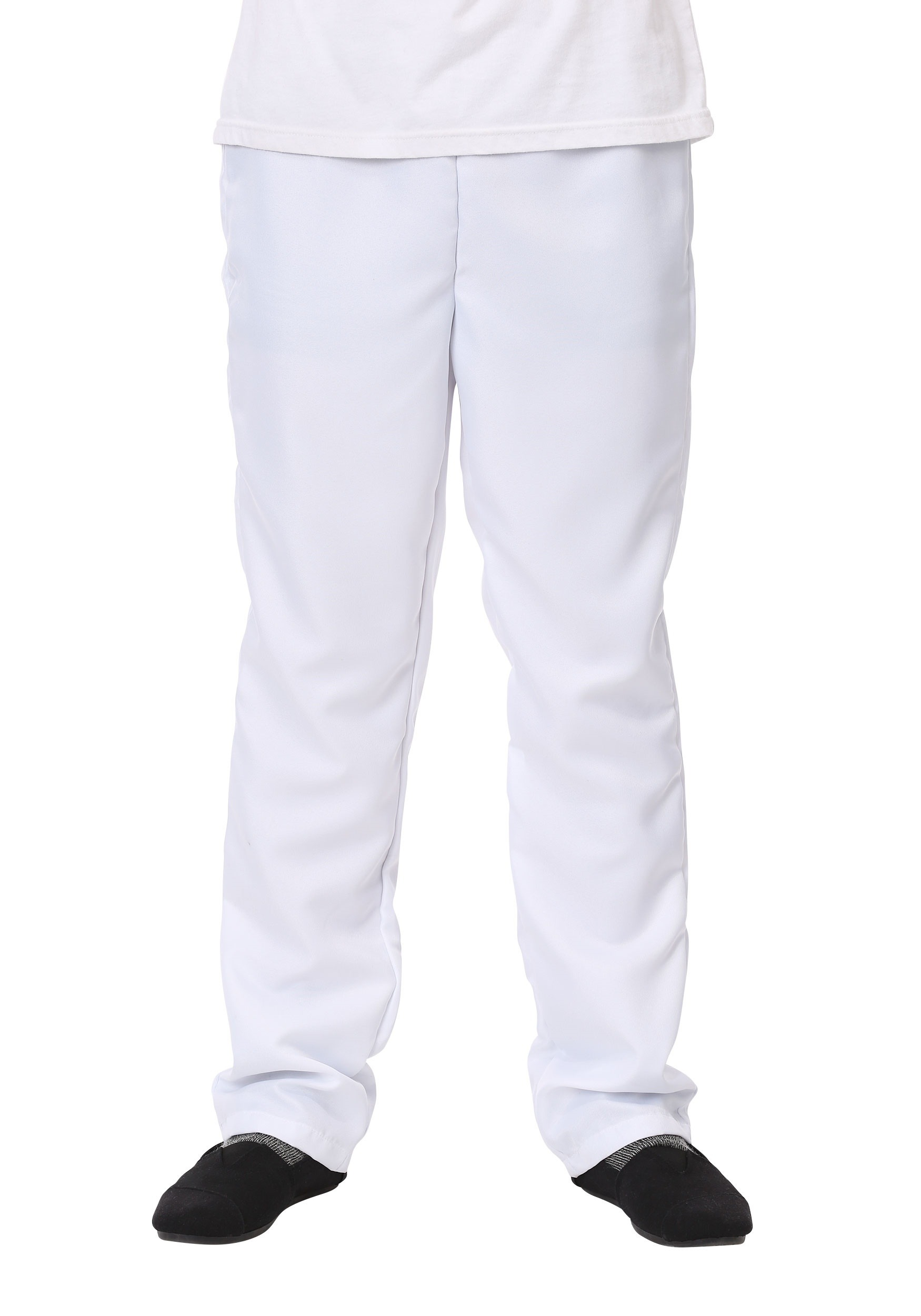 Men's White Pants - Plain White Pants