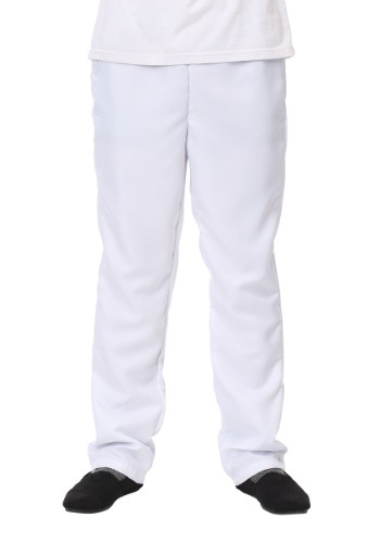 Men's White Pants1