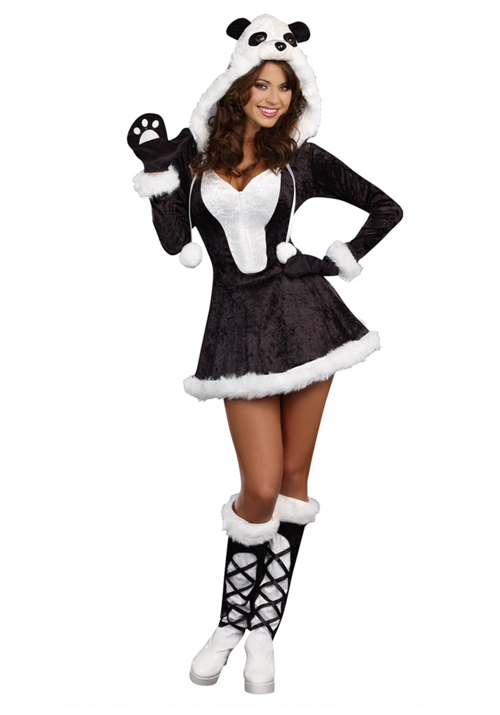 sexy panda halloween costume