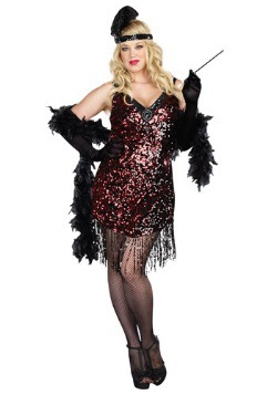Plus Size Dames Like Us Flapper Costume
