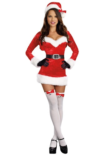 Click Here to buy Sexy Santa Baby Costume from HalloweenCostumes, USA Funds & Shipping