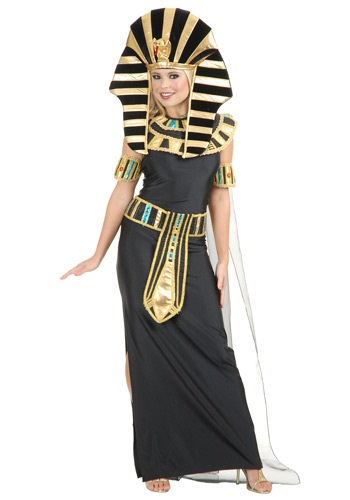 Women's Nefertiti Egyptian Costume By: Charades for the 2015 Costume season.