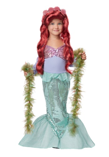 Click Here to buy Toddler Mermaid Costume from HalloweenCostumes, CDN Funds