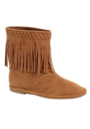 Child Indian Boots By: Ellie for the 2015 Costume season.