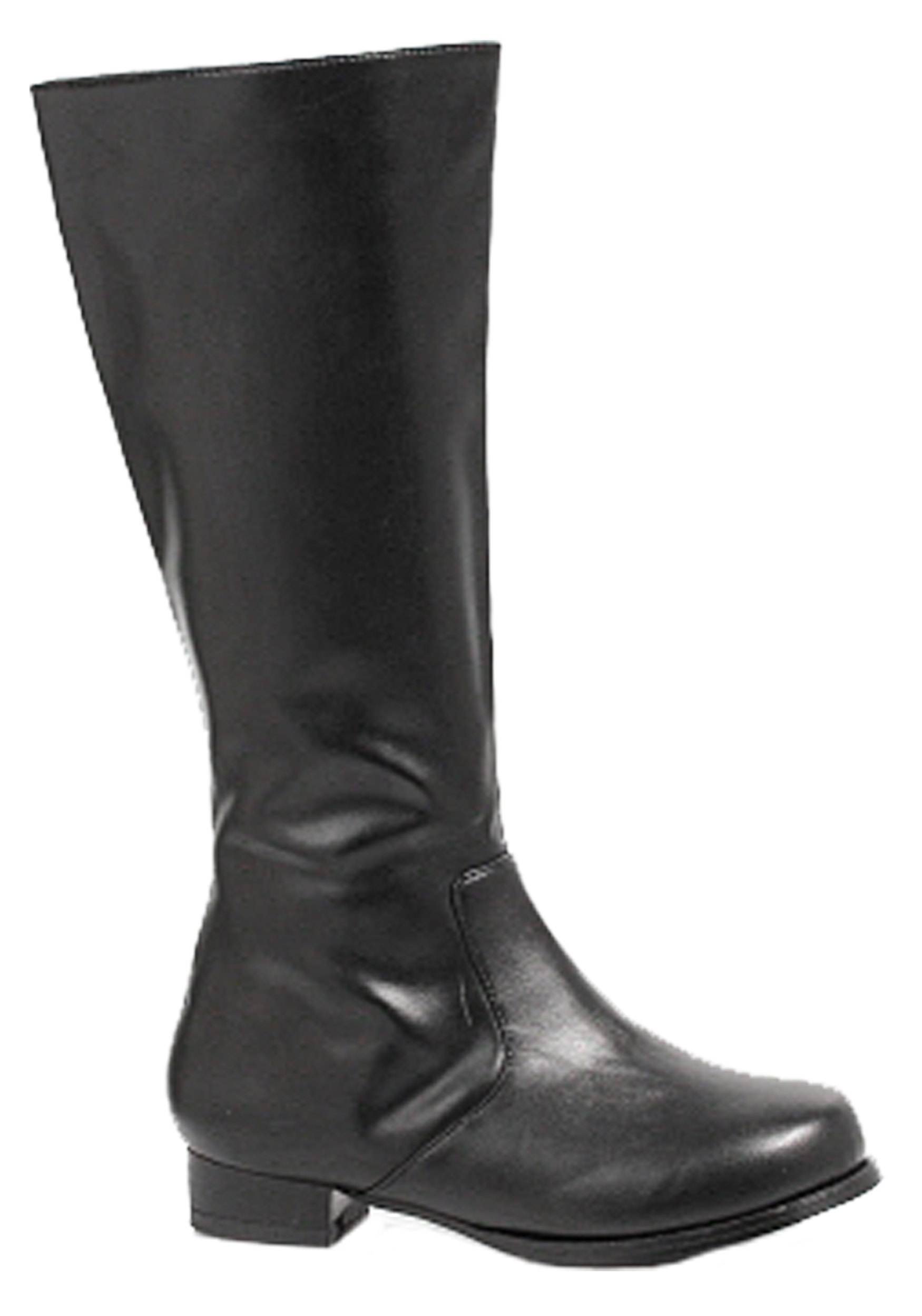 Boys Black Costume Boots EE101ROCKYBK