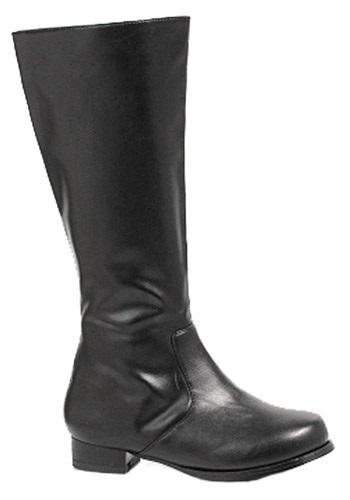 Boys Black Costume Boots EE101ROCKYBK-M