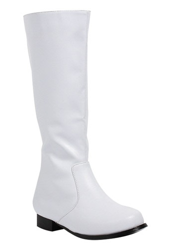 Boys White Costume Boots By: Ellie for the 2015 Costume season.