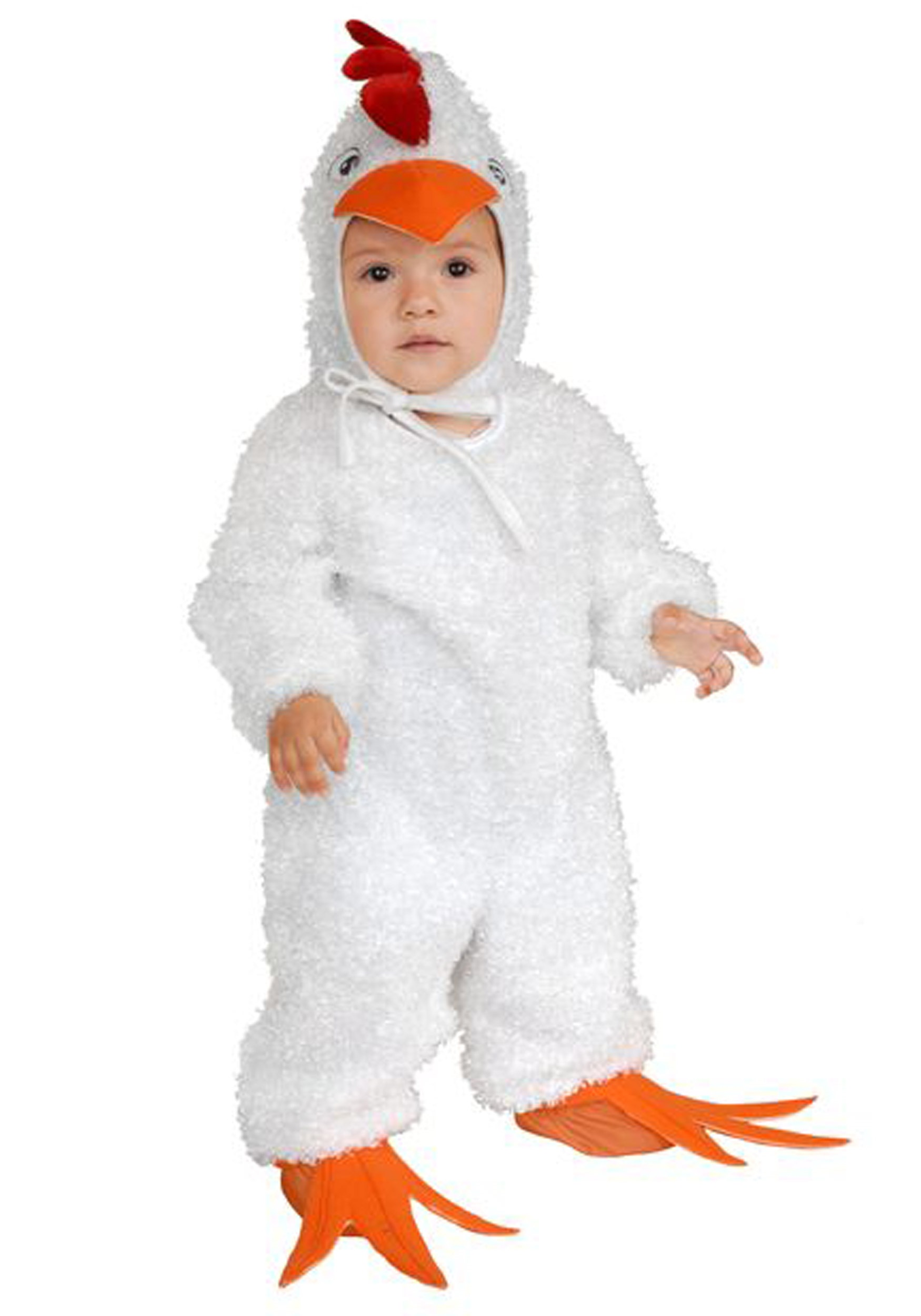 sc 1 st  Halloween Costumes & Child White Rooster Costume